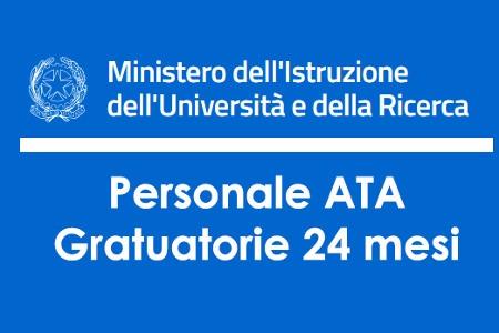 Indizione dei concorsi per titoli per l'accesso ai ruoli provinciali, relativi ai profili professionali dell'area A e B del personale ATA. Indizione dei concorsi nell'anno scolastico 2020-21 -Graduatorie a. s. 2021-2022